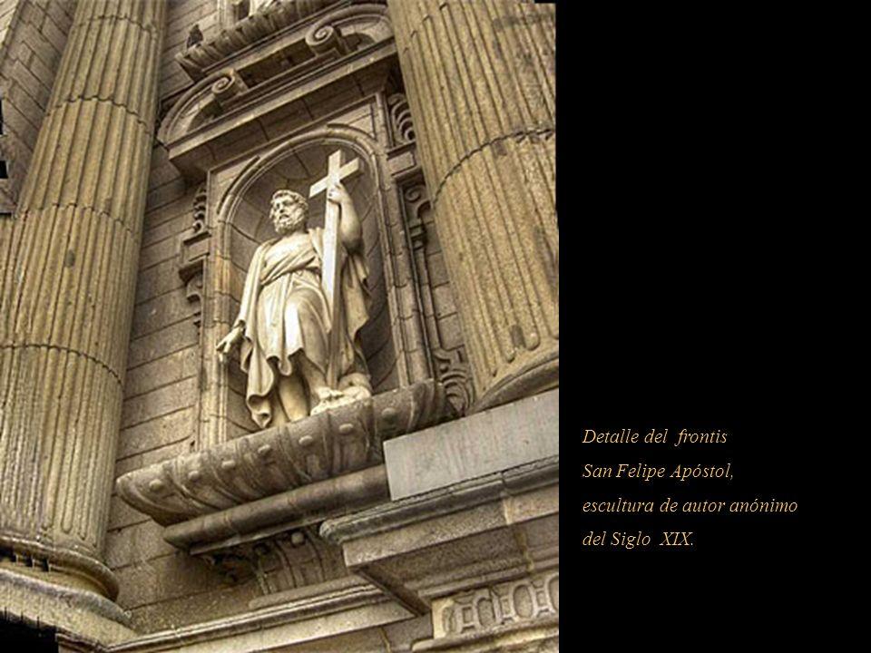 SIENDO JUES DE ESTA FABRICA EL S R MARQUES Ð CASA CONCHA SIENDO JUES DE ESTA FABRICA EL S R MARQUES Ð CASA CONCHA REEDIFICOSE AÑO 1722 GOBERNANDO EL E