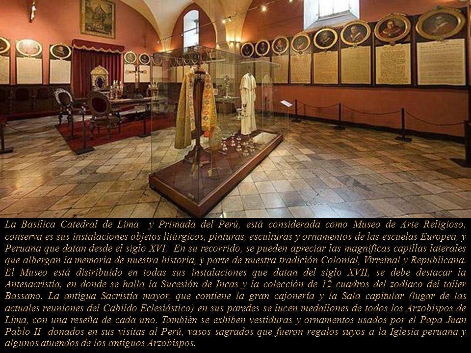 Adoración de los Pastores Retablo que formaba parte de la capilla del antiguo sepulcro y primera tumba de Francisco Pizarro. Talla en medio relieve; d
