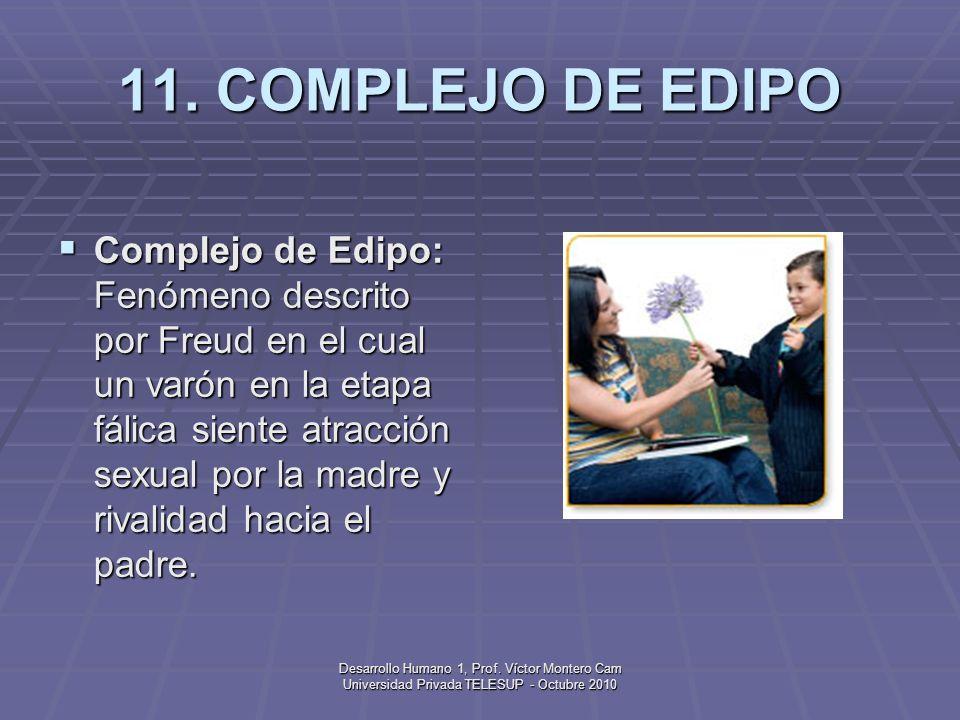 Desarrollo Humano 1, Prof. Víctor Montero Cam Universidad Privada TELESUP - Octubre 2010 10. COGNICIÓN Cognición: Capacidad psicológica que hace refer