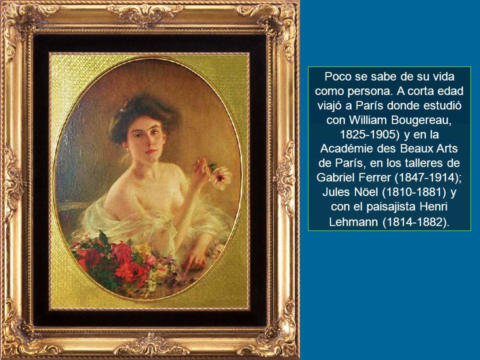 ALBERT LYNCH Pintor Peruano 1851-? Gabriela Lavarello de Velaochaga nov- 2007 c/Sonido
