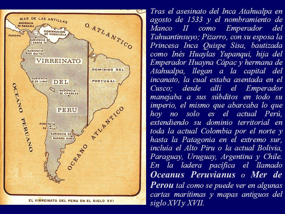 ¿Es que los peruanos, en los 474 años de historia desde la Fundación de Lima hasta nuestros días (1535-2009), sabemos que tan grande era el territorio