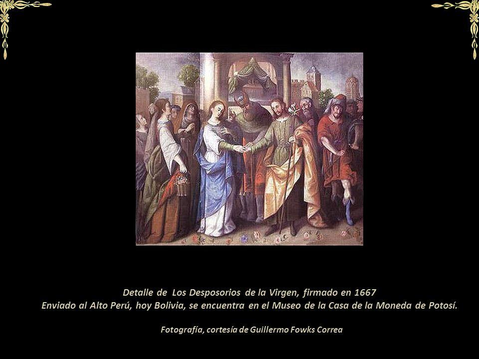 Fotografía: cortesía de Roberto Villegas Robles En las lunetas de la Parroquia de San Sebastián se encuentran pinturas de La vida de San Juan Bautista
