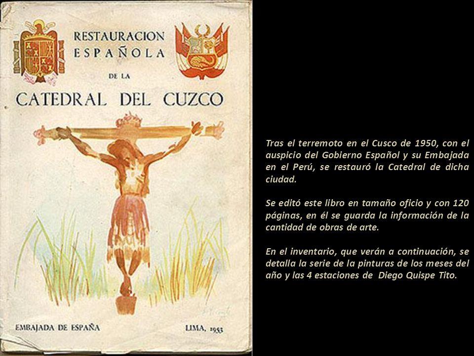 En 1670 firmó La Piedad, obra que se encuentra en la capilla de San Lázaro del Cusco. El gran mecenas del arte, el Obispo Manuel de Mollinedo y Angulo