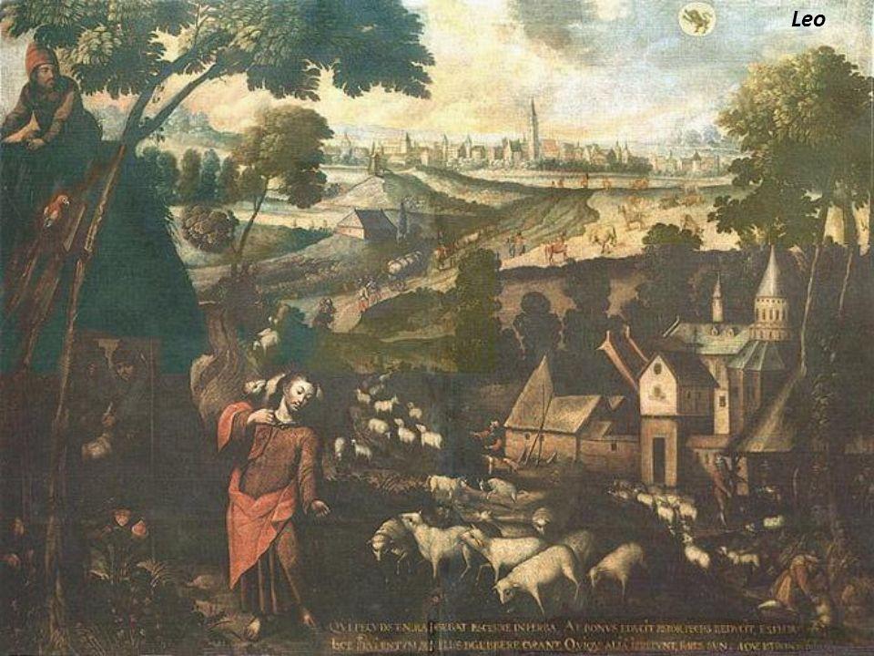 Cáncer Parábola del hombre que edifica el granero. Se trata de la parábola del rico y los graneros. Lucas 12,13-40. Detalle