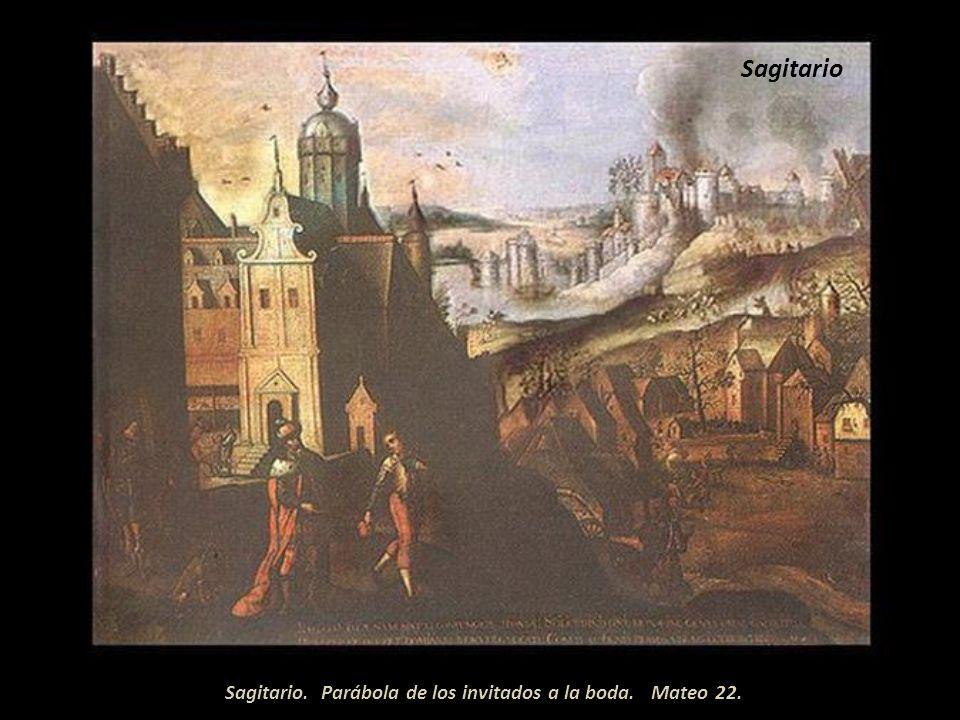 Detalle Scorpio Parábola de los viñaderos infieles. Mateo 21.