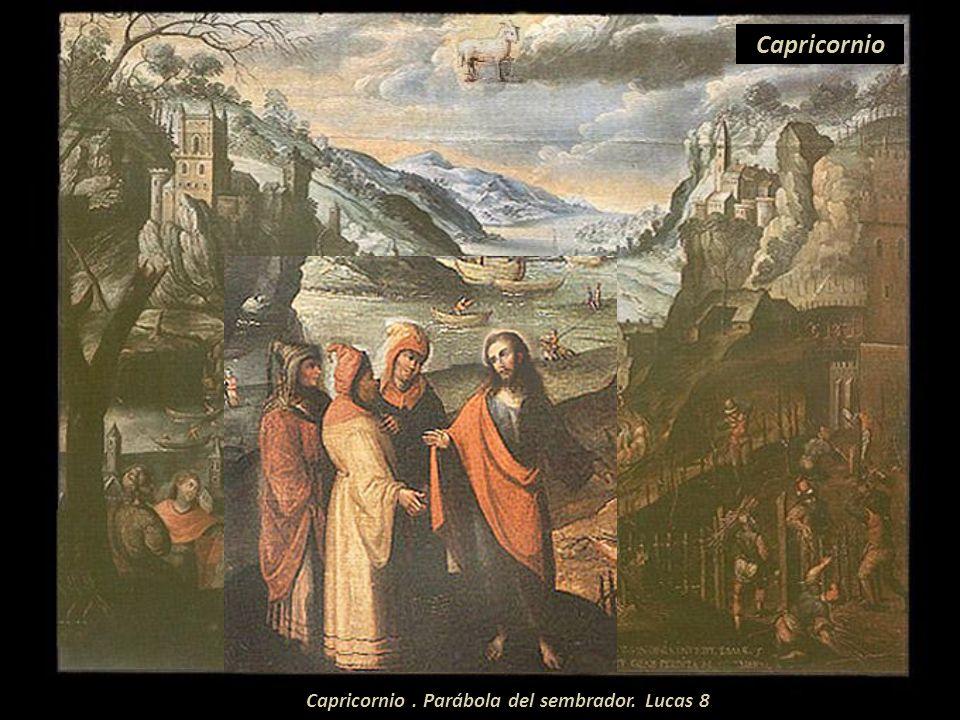 Sagitario. Parábola de los invitados a la boda. Mateo 22. Sagitario