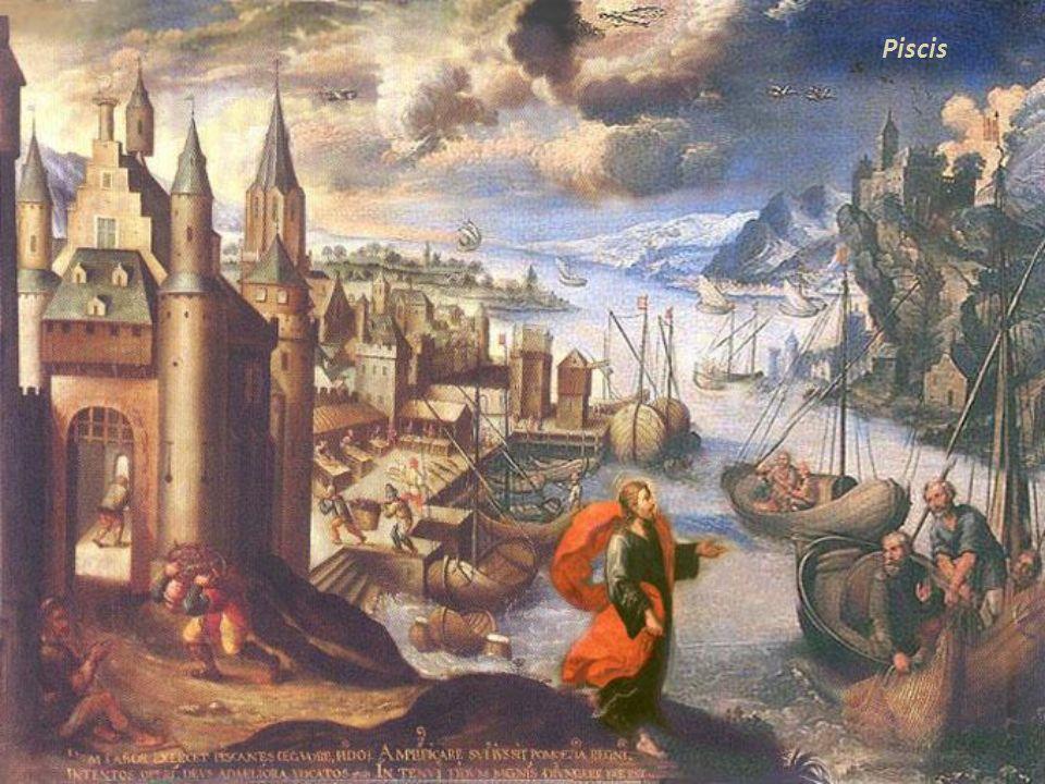 Acuario Acuario. Huida a Egipto de la Sagrada Familia. Mateo 2