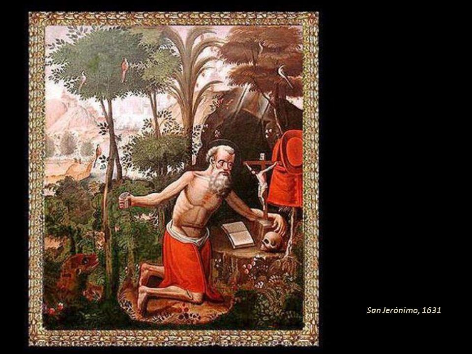 De sus obras tempranas las más meritorias son: La Inmaculada de 1627 y La Visión de la Cruz en 1631