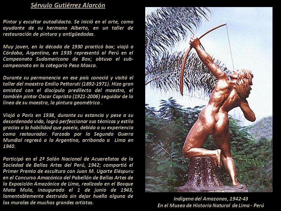 Ica, 1914 - Lima, 1961 Presentación Nº 60 Gabriela Lavarello Vargas de Velaochaga Perú - setiembre 2011