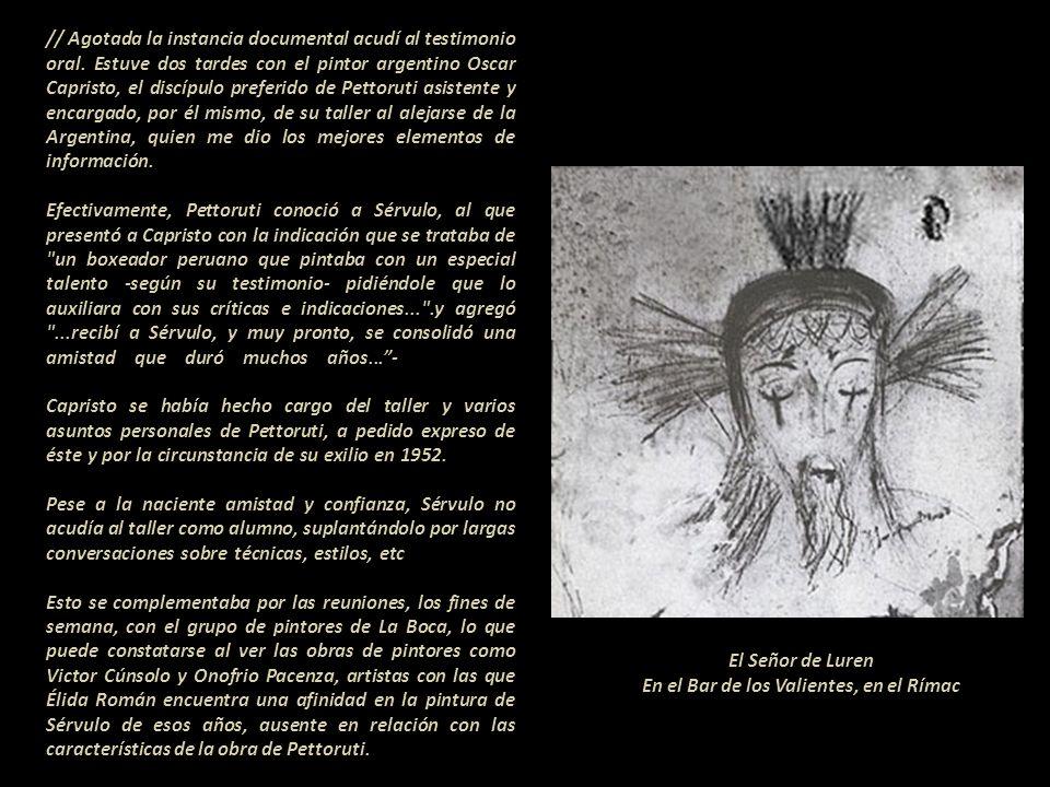 La crítica de arte Élida Román, efectúo una investigación en 1999 publicada el 29 de marzo de ese mismo año: