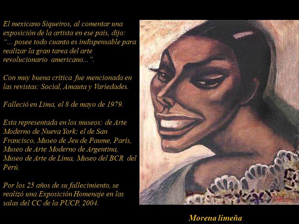 Con su viaje a México, en 1935, se nota, en su obra, la influencia del muralismo mejicano. Armando Villegas dijo:... Julia Codesido, fue una de las pe