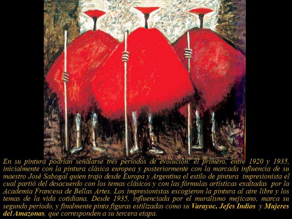 El mexicano Siqueiros, al comentar una exposición de la artista en ese país, dijo:... posee todo cuanto es indispensable para realizar la gran tarea d