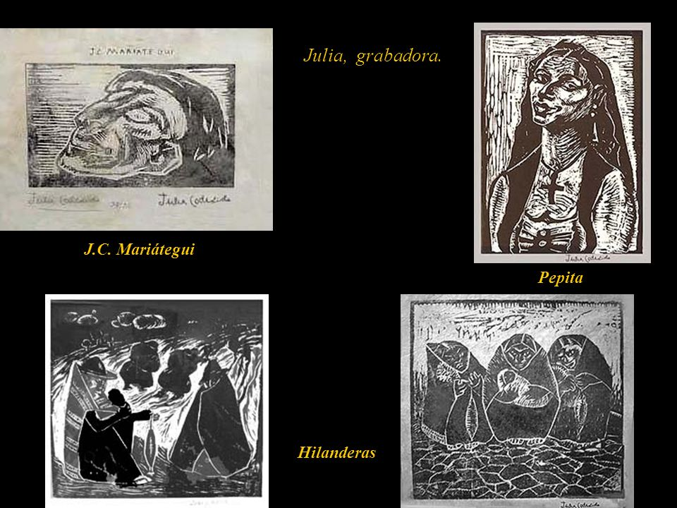 Pintó y grabó, indígenas, negros y costumbres de su país natal, el Perú. Inicialmente desde lo académico hasta llegar al final de su producción con pi