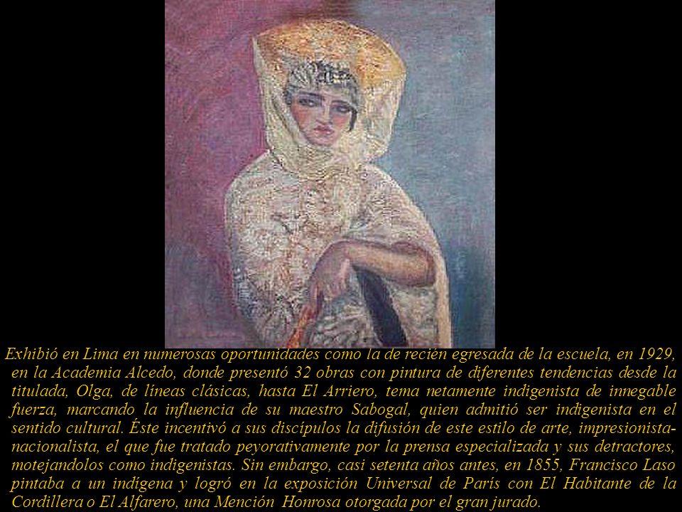 Julia M Codesido Estenós, 1883-1979 Pintora y grabadora. Nació y falleció en Lima. Su nombre está incluido en el Almanaque Mundial con la fecha de nac