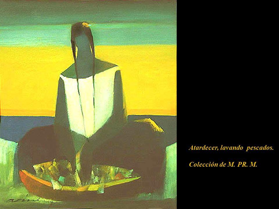 El Cristo Resucitado Atardecer, lavando pescados. Colección de M. PR. M.