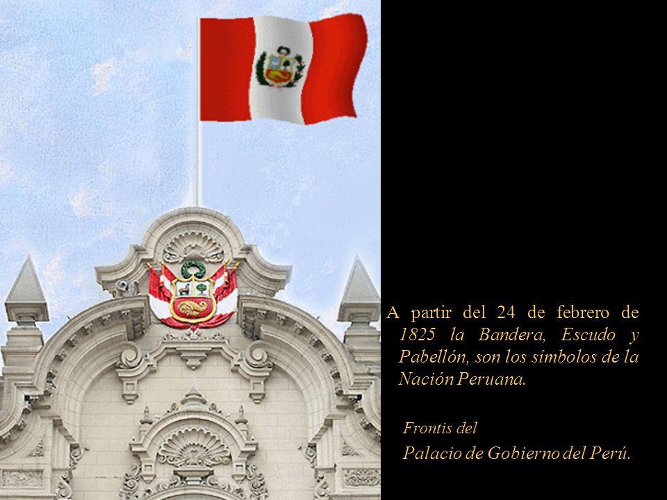Desde entonces, nuestra bicolor se encuentra en todas las fases de la historia peruana; nuestra bandera desde su creación ha sufrido cuatro cambios, s
