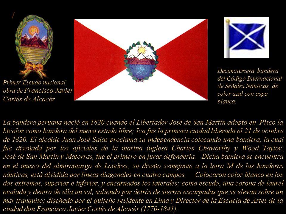 El 28 de julio de 1821 fue el Día de la Proclamación de la Independencia del Perú por José de San Martín y Matorras, líder de los ejércitos independen