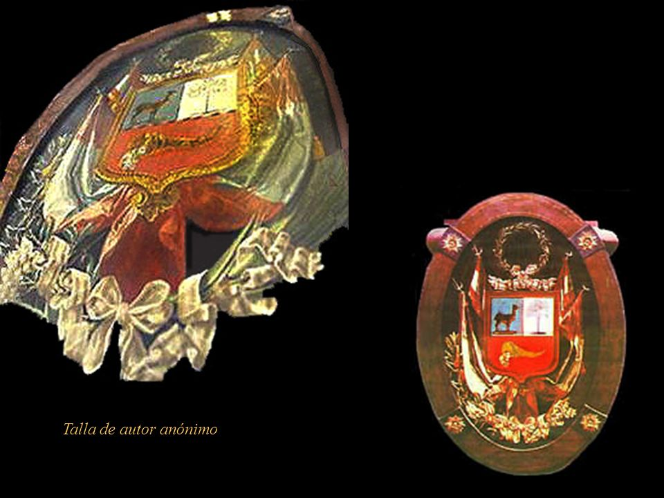 EL escudo que hoy lucimos fue elegido mediante concurso de 1825, convocado por la Presidencia del Congreso Constituyente a cargo de D. José Gregorio P