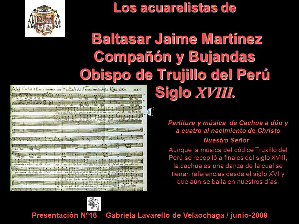 Partitura y música de Cachua a dúo y a cuatro al nacimiento de Christo Nuestro Señor.