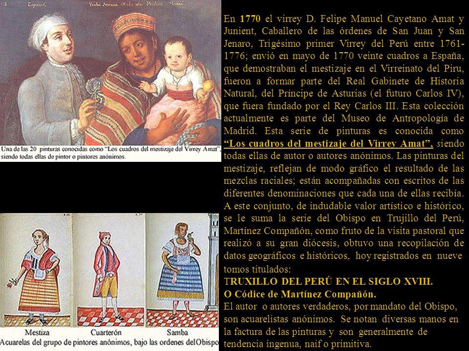 tomos titulados: TRUXILLO DEL PERÚ EN EL SIGLO XVIII.