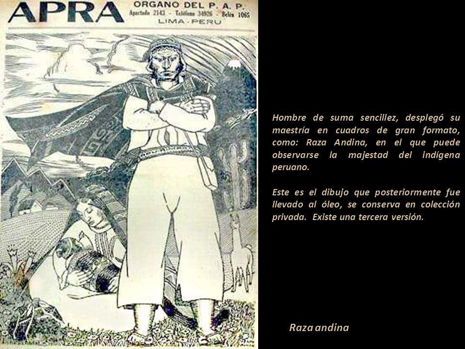 Fue dibujante gráfico y colaborador de las revistas: Mundial, Variedades, Amauta y APRA, así como de los periódicos: La Tribuna, Impacto y La Crónica.