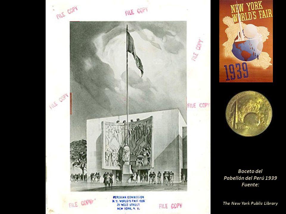 De la exposición del Pabellón Peruano en Nueva York 1939-1940 en el Perú solo existe esta información. Hasta aquí es el catálogo proporcionado por la