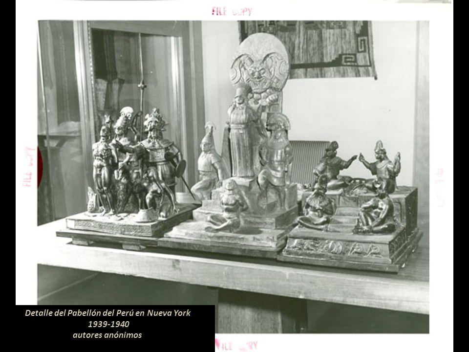 Pabellón del Perú en Nueva York 1939-1940 Fuente: The New York Public Library