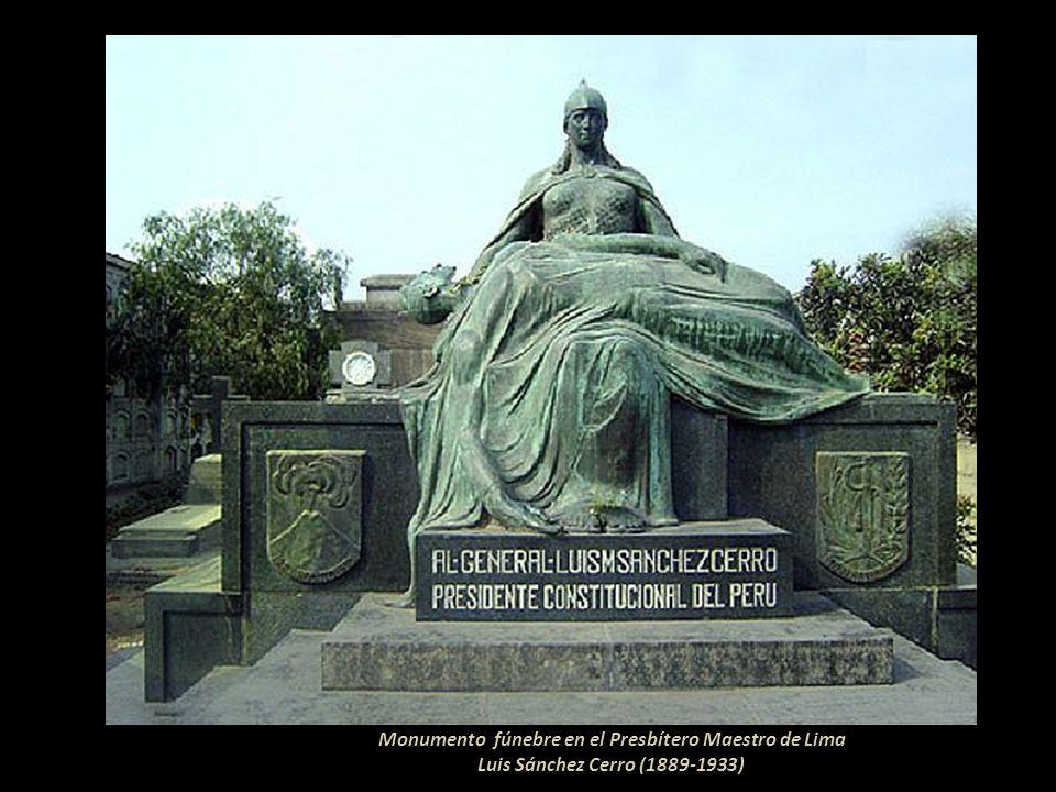 Monumento a Don Emilio Agustín Del Solar Y Mendiburu 1835-1910 Jurista y Fiscal de la Corte Suprema de Lima Fundador de Chosica en 1894. El monumento