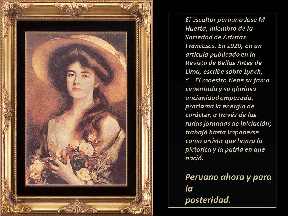 Retrató a las damas más elegantes de Europa, América y Asia. Muchas de su obras se lucen en magníficas colecciones institucionales y privadas de los c