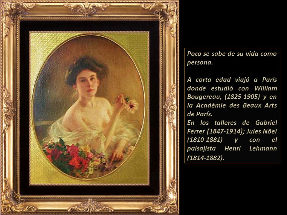 ALBERT LYNCH 1851-1950 Pintor Peruano Gabriela Lavarello Vargas de Velaochaga Perú, noviembre - 2007