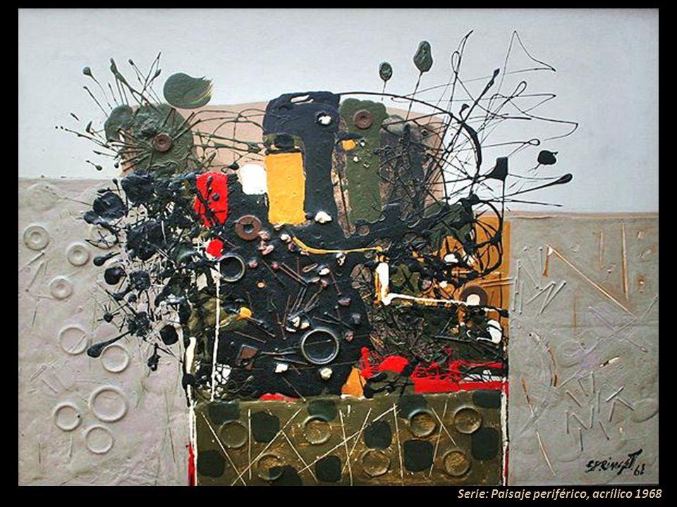 Abstracto, acrílico 1968