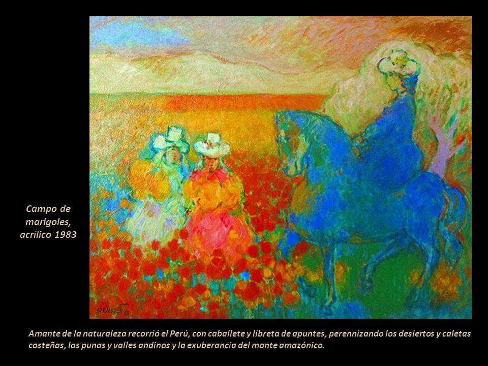 Participó desde 1934 hasta los últimos años de su vida en muestras colectivas en el Perú y el extranjero. Entre ellas destacan: Pintura Sudamericana,