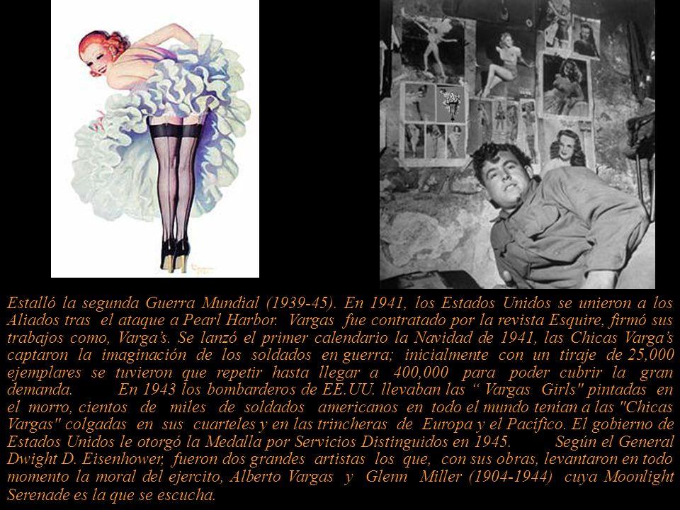 Alberto Vargas y Chávez 1896-1982 Dibujante y pintor.
