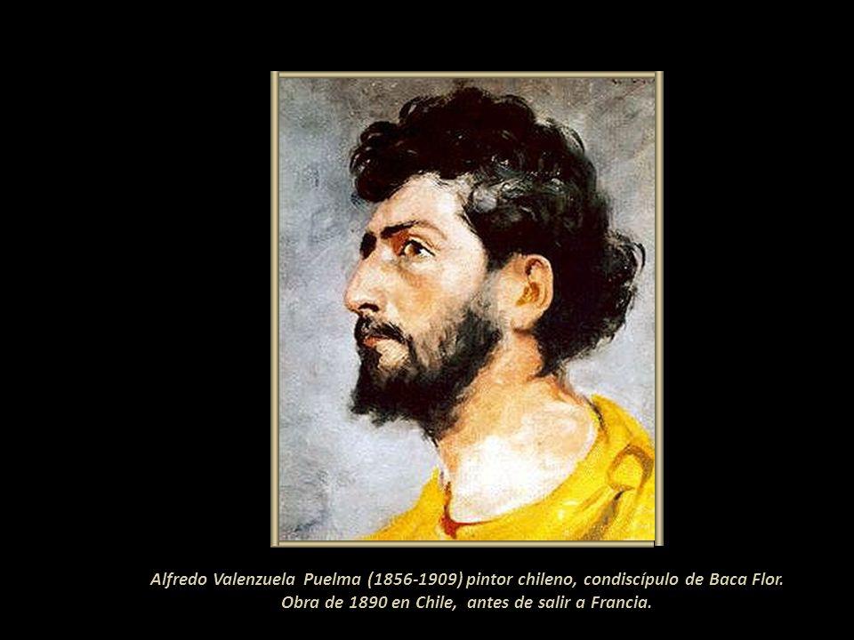 Entre los retratos de personalidades limeñas hizo el de Doña Antonia Moreno de Cáceres, esposa del Presidente de turno y en 1888 el del científico per