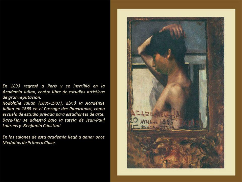 Miguel Blay, obra de 1892 Establecido en París en 1890, viajó en diversas oportunidades a Italia, Inglaterra, España, Portugal y a los Estados Unidos.