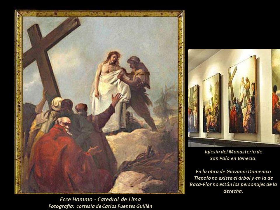 Camino al Gólgota- Catedral de Lima Fotografía: cortesía de Carlos Fuentes Guillén El Vía Crucis En la Catedral de Lima Por archivos que se encuentran