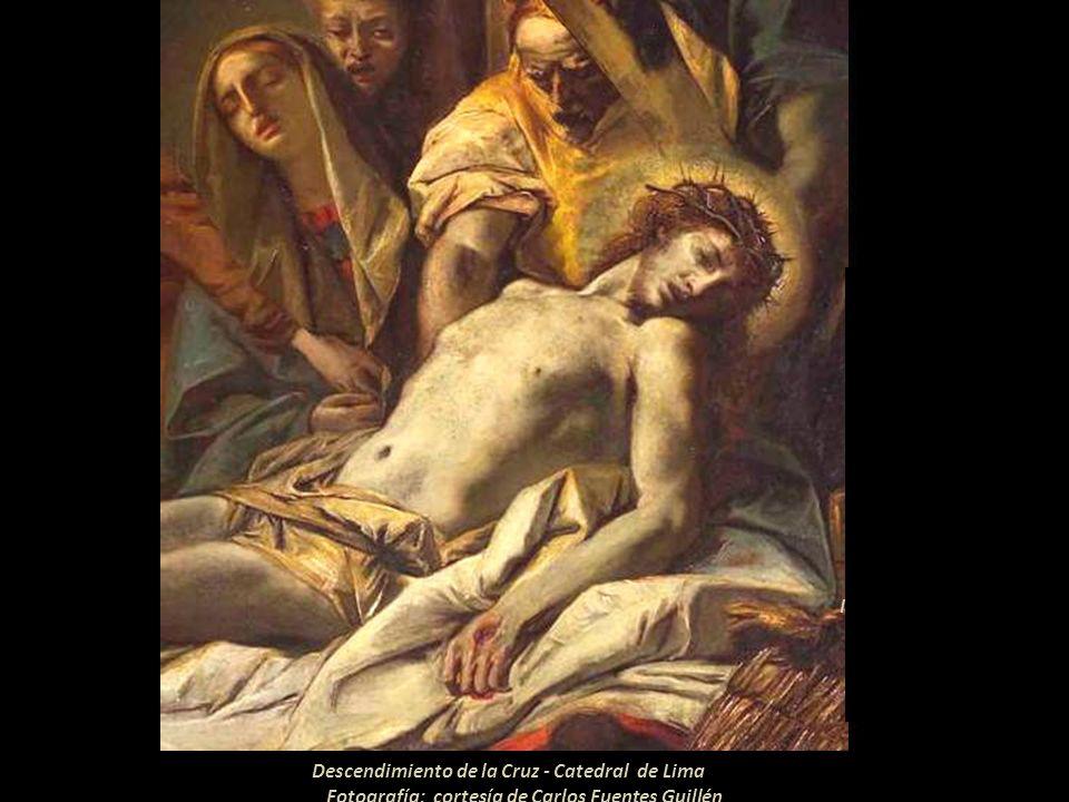 Ecce Hommo - Catedral de Lima Fotografía: cortesía de Carlos Fuentes Guillén Iglesia del Monasterio de San Polo en Venecia. En la obra de Giovanni Dom