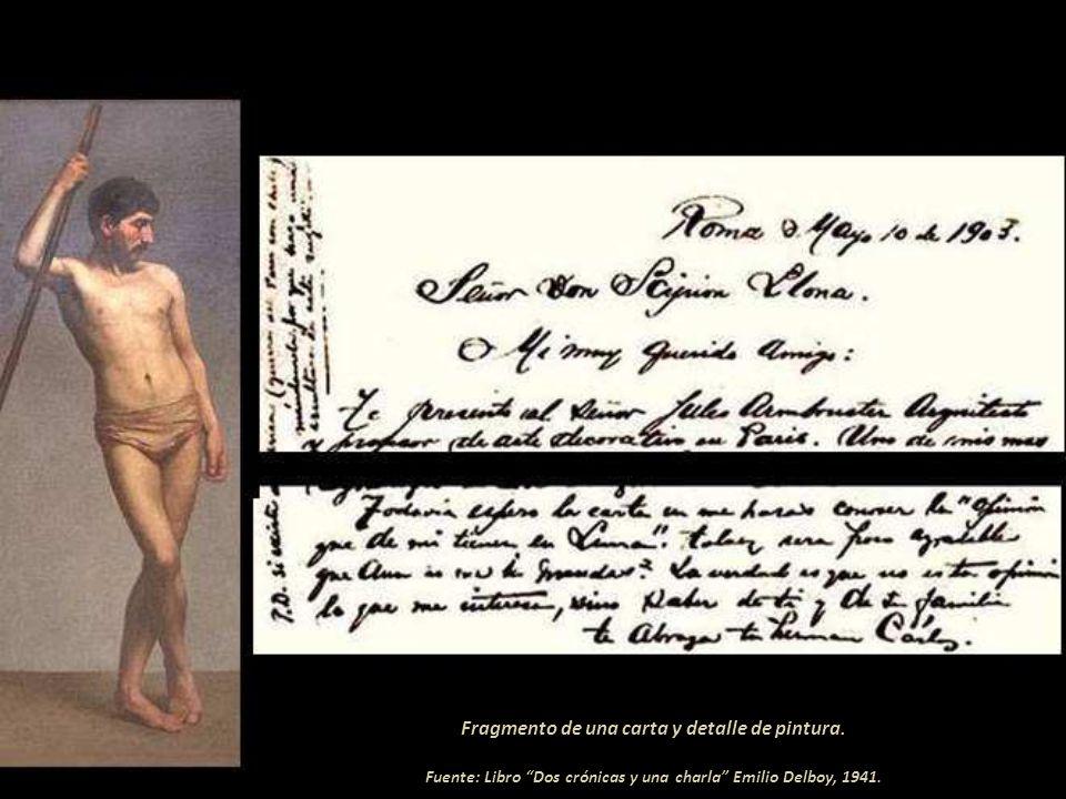 Los ahorcados Óleo de gran formato en el Museo de Antropología, Arqueología e Historia del Perú ( MNAAHP). Fotografía: cortesía de Carlos Fuentes Guil