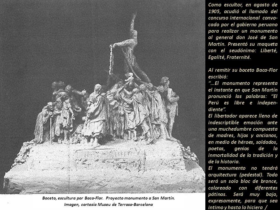 Fragmento de una carta y detalle de pintura. Fuente: Libro Dos crónicas y una charla Emilio Delboy, 1941.