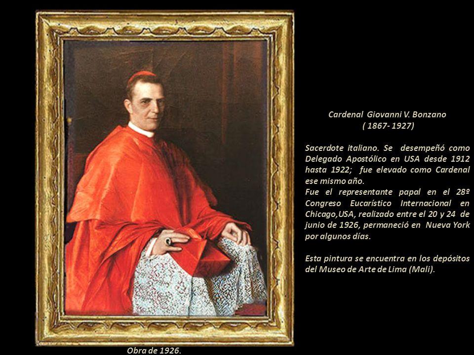 De un oficio extraordinario, las orejas de sus modelos son admirables; este artista era conocido como, Bacá l´magnific Baca-Flor Cardenal Bonzano Papa