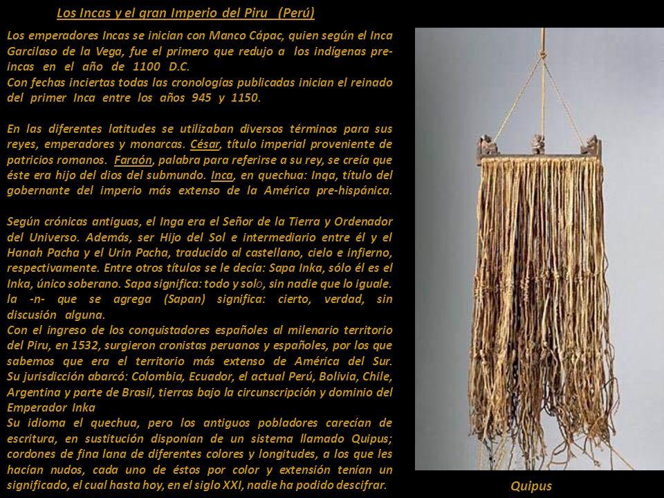 El Imperio Incaico y sus Emperadores. Los Sapan Inka 14?hasta 17 MANCO CÁPAC INGA RREI Óleo siglo XVII -autor anónimo Presentación Nº 57 Gabriela Lava