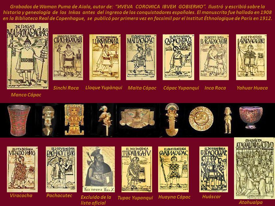 Los grabados y textos del cronista e historiador Guamán Poma de Ayala (1535?-1620?). Waman Puma de Aiala, Señor i Príncipe, indígena de alcurnia. Auto