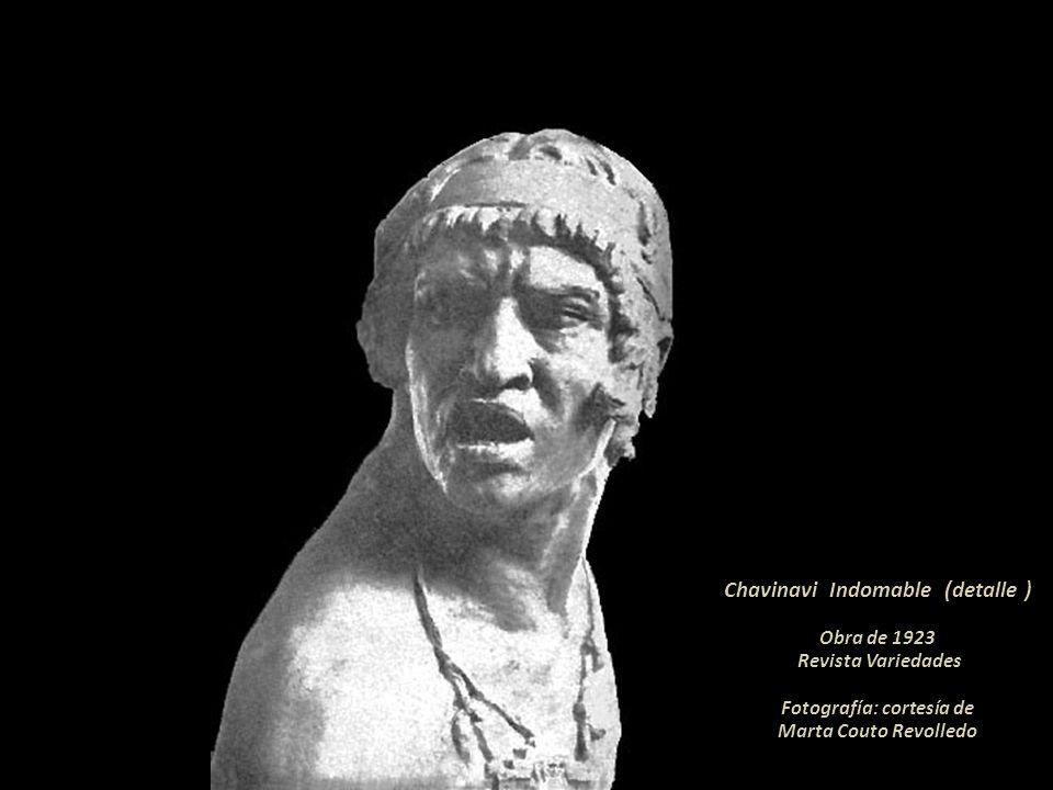 Chavinavi Indomable (detalle ) Obra de 1923 Revista Variedades Fotografía: cortesía de Marta Couto Revolledo