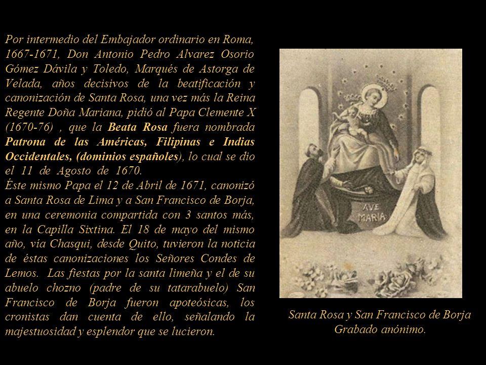 . La historia no es clara quien es el que encarga la ejecución de la escultura. Existen tres papas en esa etapa. Alejandro VII 1655-67, Clemente IX 16