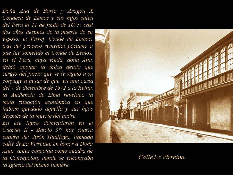 Los virreyes, con sus despensas inauguraron el 30 de enero de 1672 la nueva Iglesia de los Desamparados, el mismo día que llegó el aviso oficial de Es