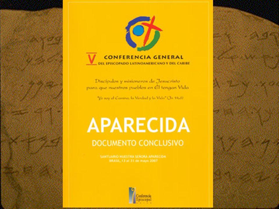 El Documento de Aparecida está estructurado en tres grandes partes, con una introducción, 10 capítulos, una conclusión y 554 números.