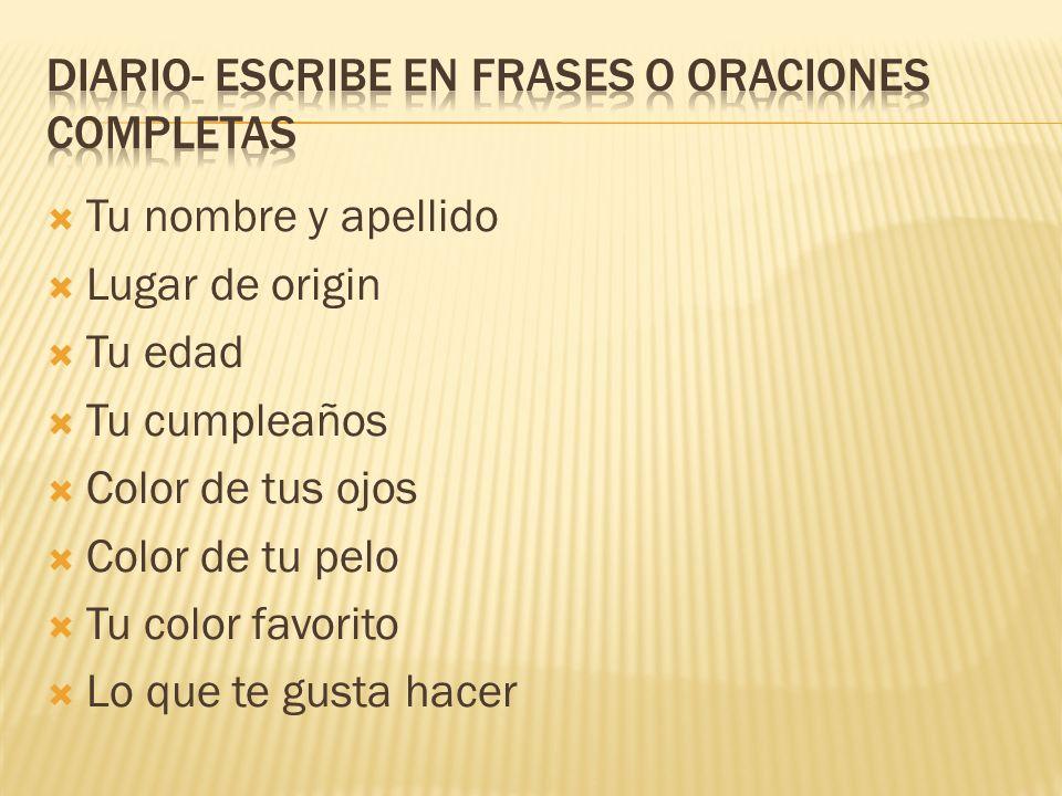 Aprenderemos un proberio nuevo cada semana en inglés y español.