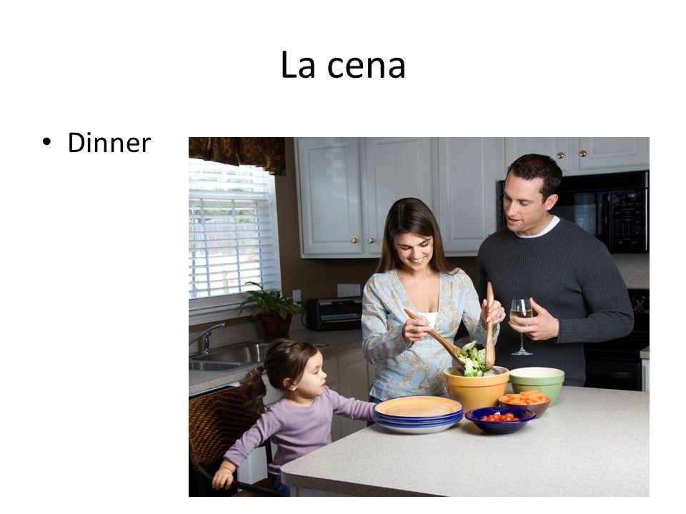 La cena Dinner