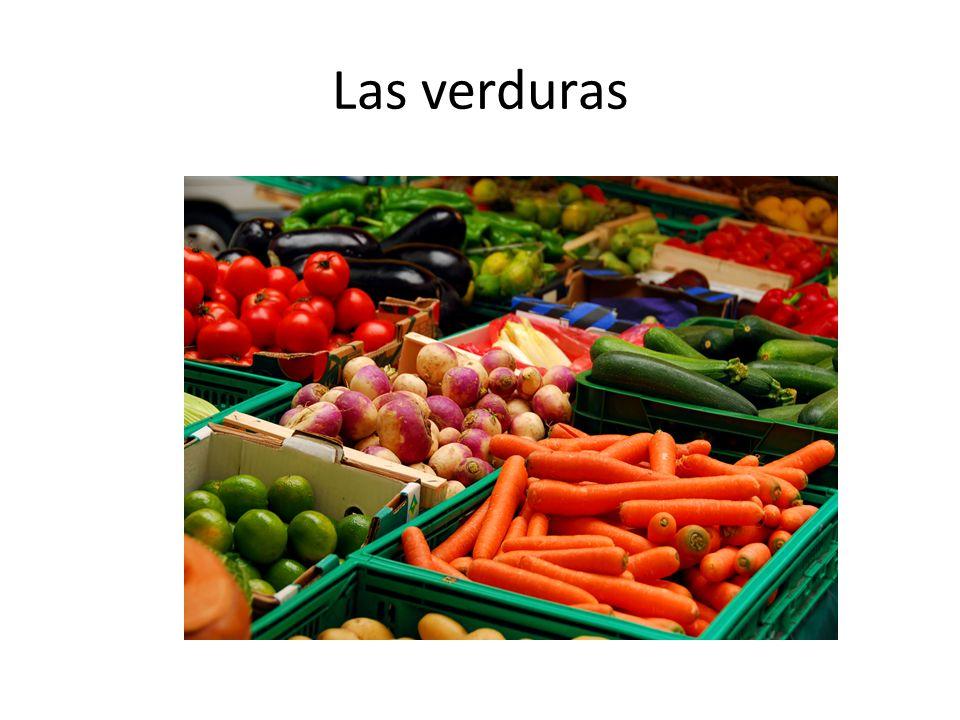 Las verduras