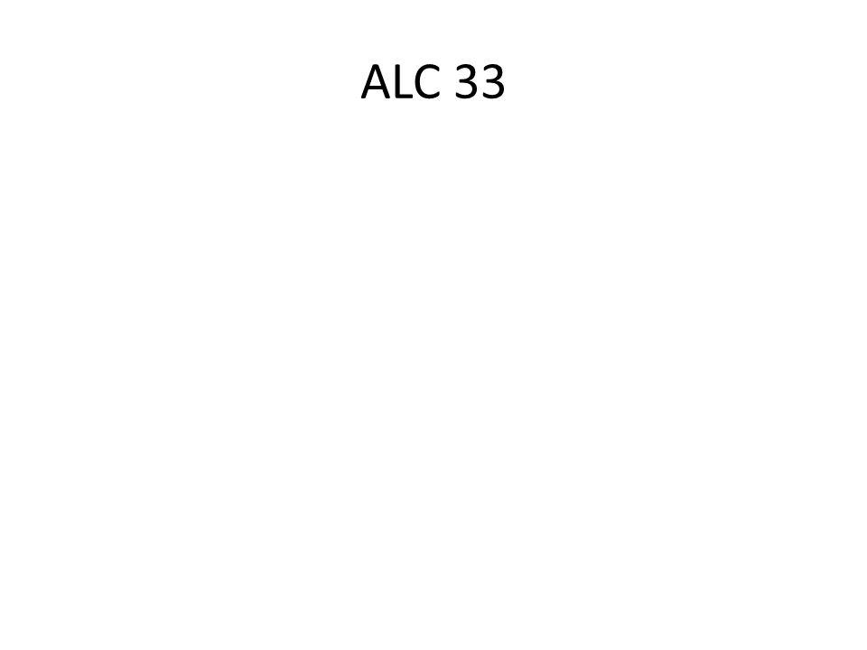 ALC 33